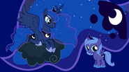 Princess Luna and filly Luna