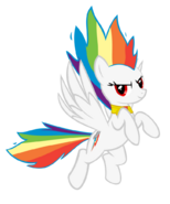 Super rainbow dash by geogo999-d4rffbx