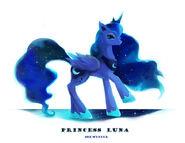 Princess Luna fan art