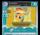 Scootaloo, Fan Club Founder