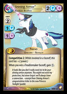 Shining Armor, Bastion Brother