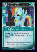 Rainbow Dash, Element of Loyalty