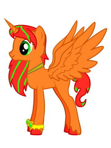 File:Alicorn Princess Speckle Fire Side View 1.png