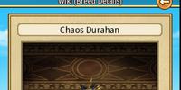 Chaos Durahan