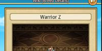Warrior Z