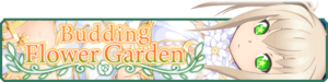 Budding Flower Garden banner