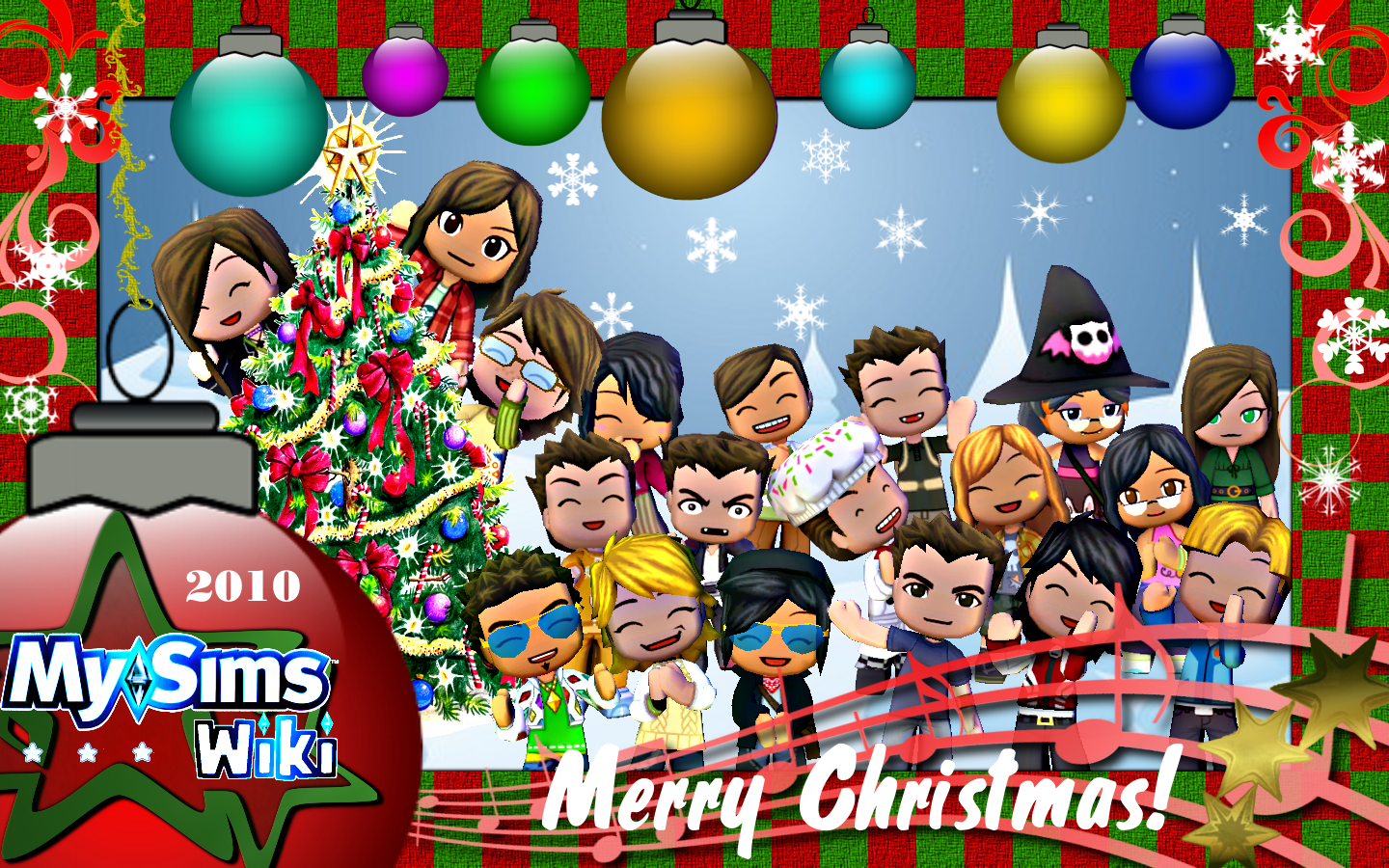 Image - A MySims Wiki Christmas.png | MySims Wiki | FANDOM powered ...