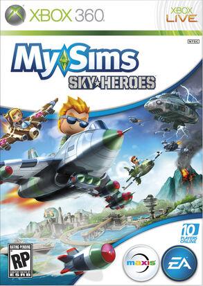 SkyHeroes 360 Boxart