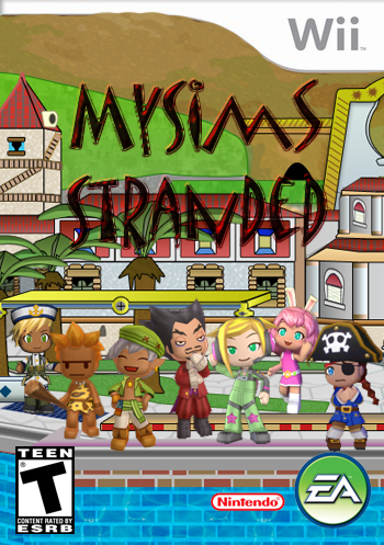 MySims Stranded Wii