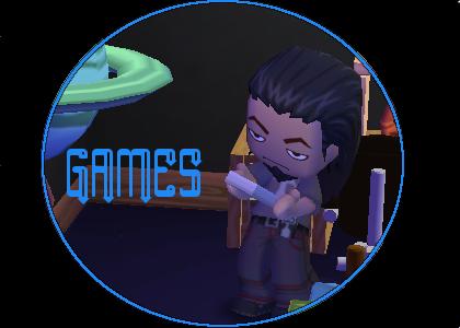 Games Button