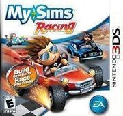 MySims Racing 3DS boxcover