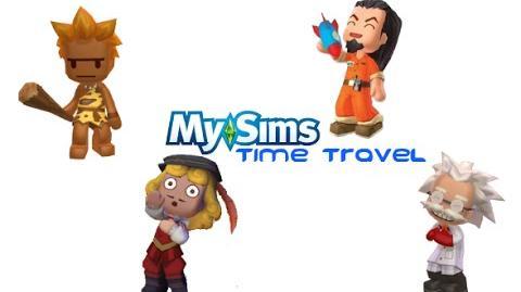 MySims Time Travel Trailer