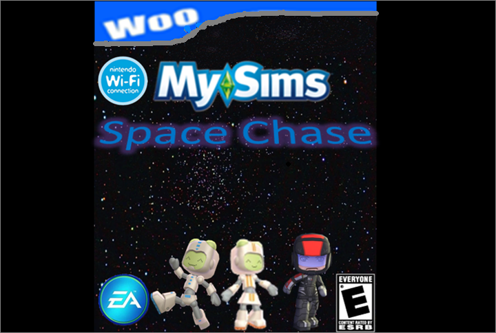 MySims Space Chase Woo