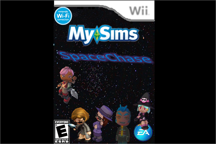 MySims Space Chase Wii