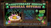 Anniversary special seasonal monsters