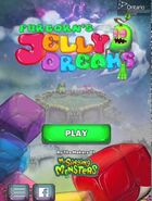 Furcorn's jelly dreams title screen