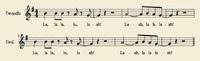 Sheetmusic Tweedle Air1