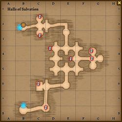 Halls of salvation map