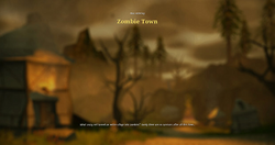 Zombie town load