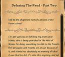 Defusing the Feud - Part Two