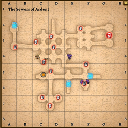 The sewer of ardent