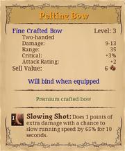 Pelting bow