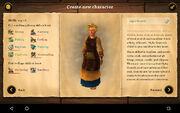 Creation of new char skills