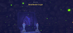 Bearhold crypt view