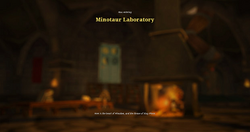 Minotaur laboratory load