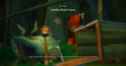 Goblin root caves load