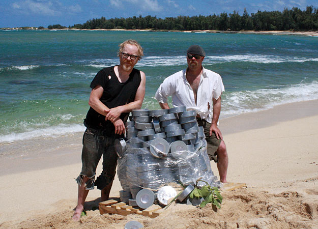 File:Adam and jamie on the island with a pile of Duct Tape.jpg
