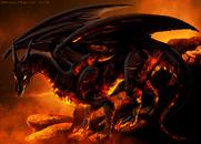 Ember dragon by isismasshiro-d4tgo65