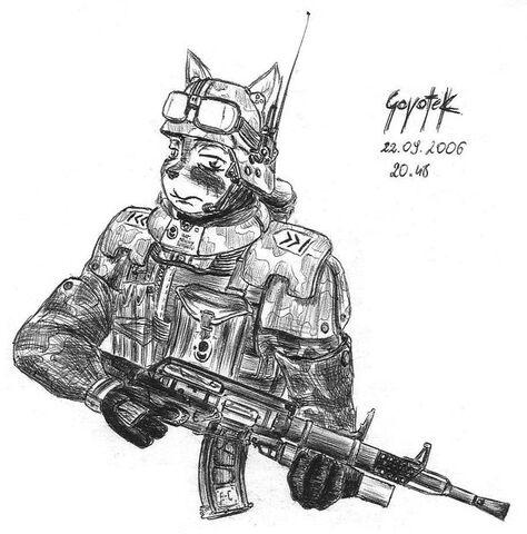 File:Cat soldier by coyotek.jpg