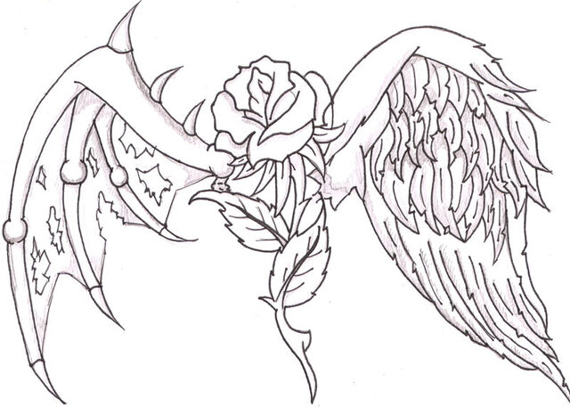 File:Rose with wings by maciejka7-d2xetnl.jpg
