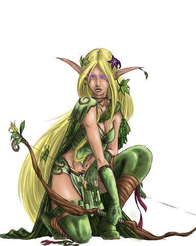 File:Warhammer elf coloring by M1keN.jpg