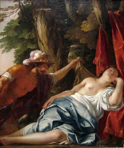 File:501px-'Mars and the Vestal Virgin', oil on canvas painting by Jacques Blanchard, ca. 1630, Art Gallery of New South Wales.jpg