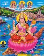Pbabg008 goddess ganga