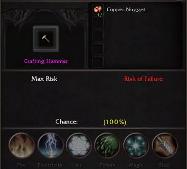Crafting Hammer Recipe