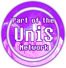 UniS Network button WIP