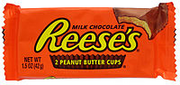 Reese's cup wrapper