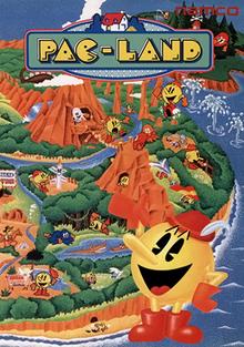 Pac-Land arcadeflyer
