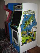Galaxian Arcade Cabniet