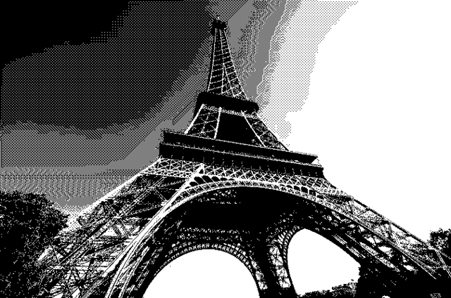 File:WebP test - bw 50% dither.png