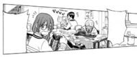 The Manga Club making costumes