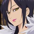 Merlin face anime