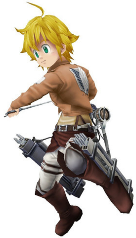 File:Unjust Sin 3DS - Meliodas Attack on Titan costume 2.png