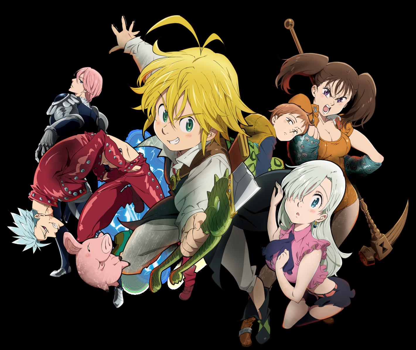 Anime Characters Png : Image anime character visuals nanatsu no taizai
