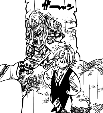 File:Simon surprise at Meliodas captain statue.png