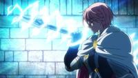 Gilthunder preparing to throw a spear