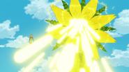 Sunflower attacking
